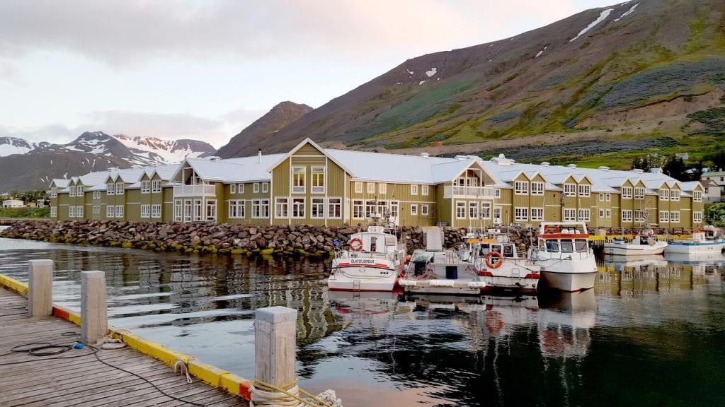Hotel Siglo at Siglufjordur