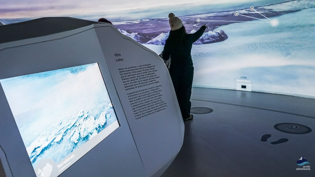 Glacier Exhibition at Perlan Museum