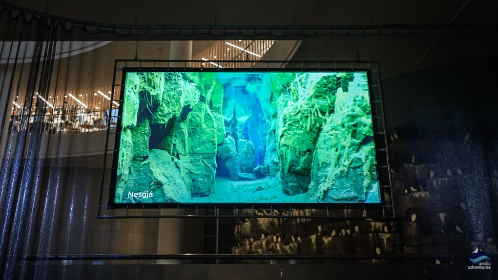 Underwater exhibition at Perlan