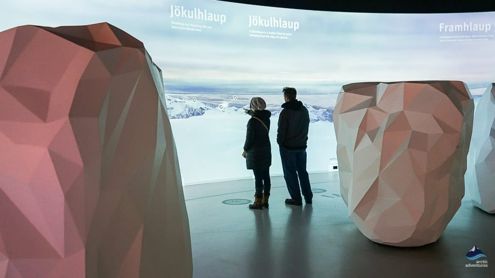 The Glacier Exhibition at Perlan
