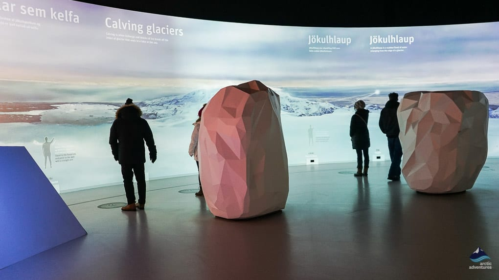 Glacier and Ice Cave Exhibition in Reykjavik