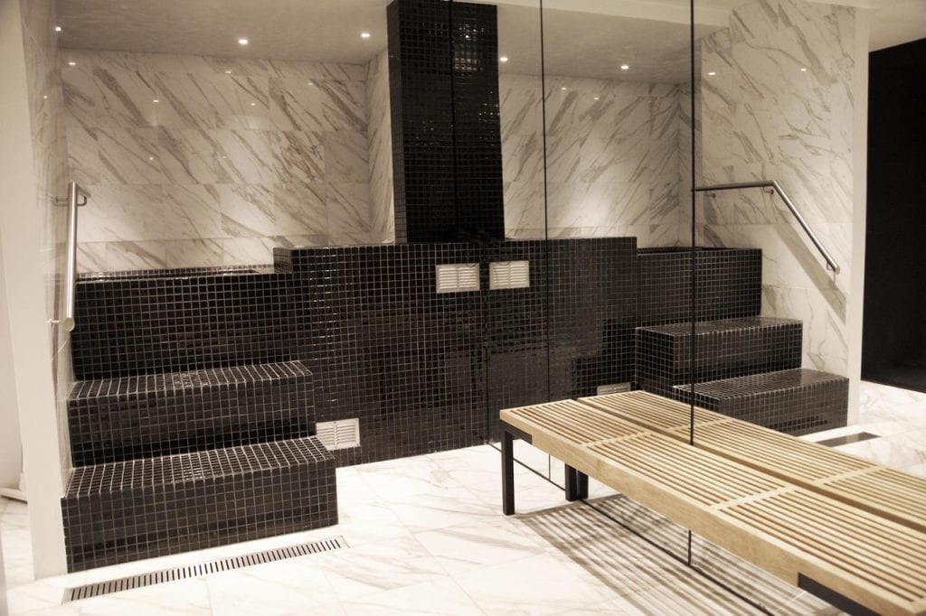 Sauna at 101 Hotel