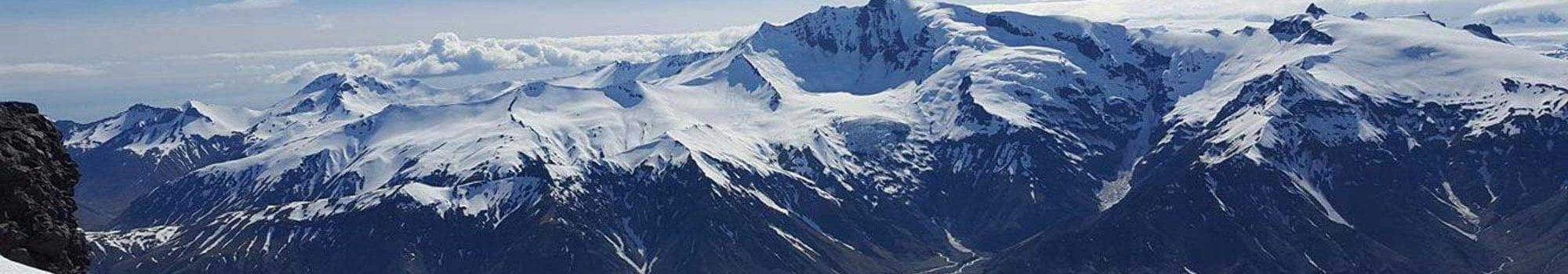 Vues panoramiques sur Glacier Vatnajokull