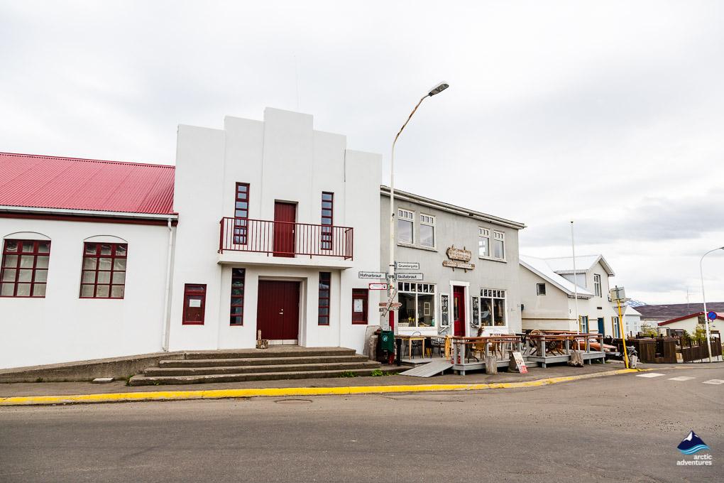 Dalvik Town North Iceland