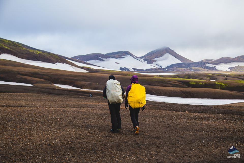 people-hiking-mountain-pass