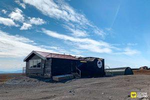 Langjokull base camp