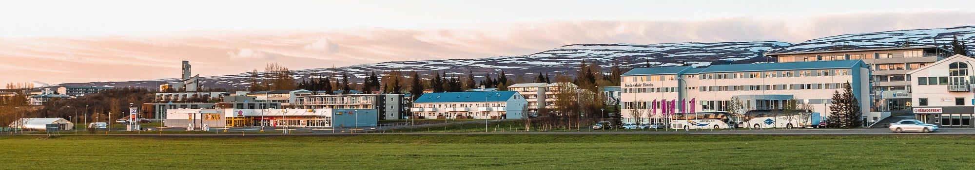 Egilsstadir city in Iceland