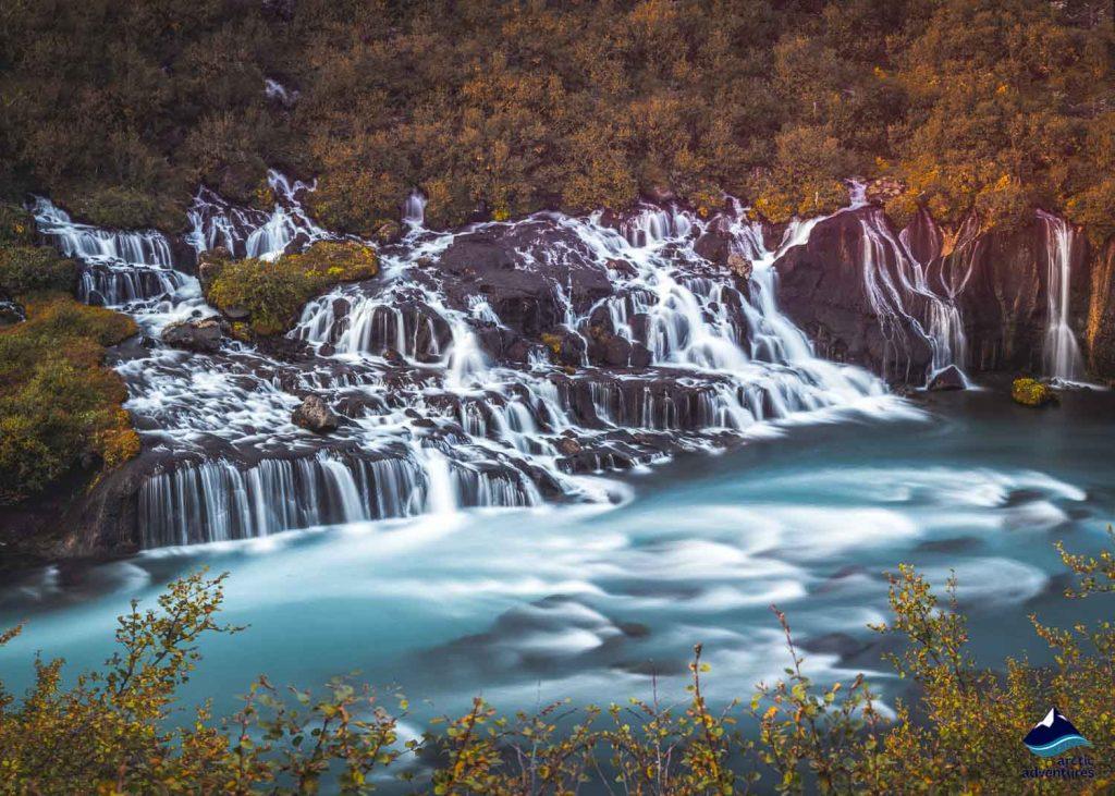 Hrauneyjafos Waterfall