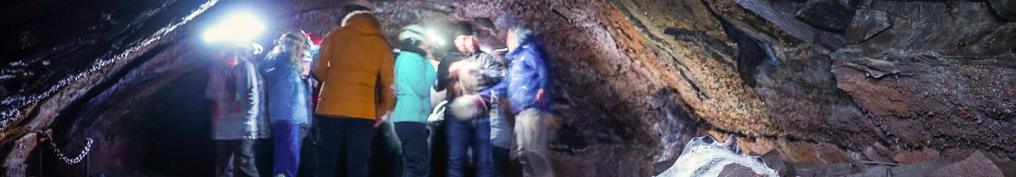 Vidgelmir lava Tube Cave