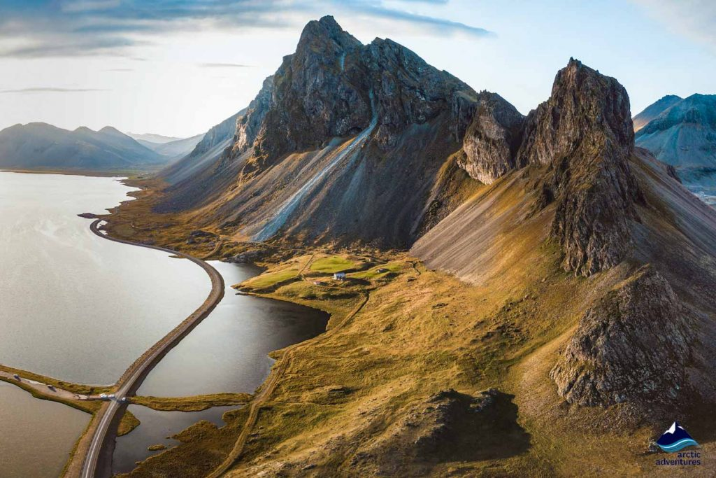 Mountain roads in Iceland