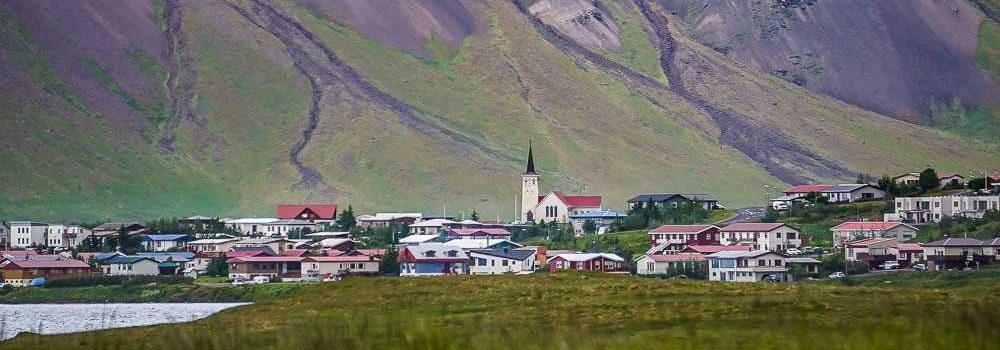 Snaefellsnes peninsula West Iceland