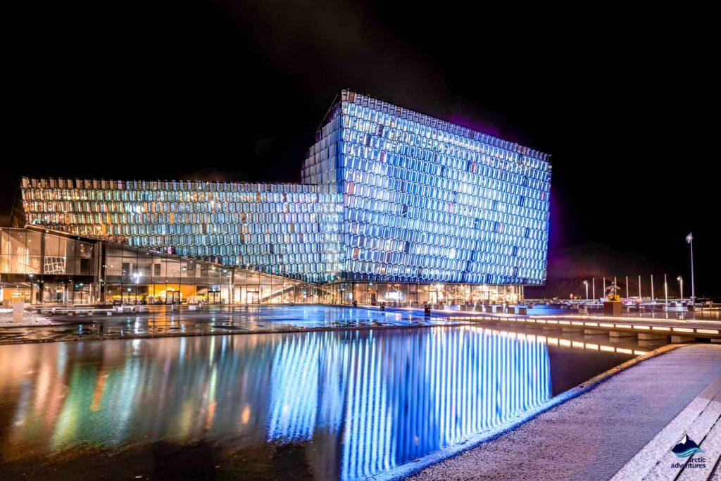 Harpa Concert Hall in Reykjavik