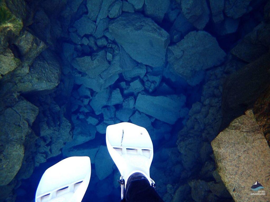 Snorkeling foot fins