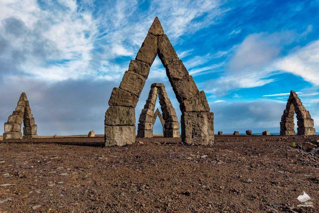 Arctic Henge stones