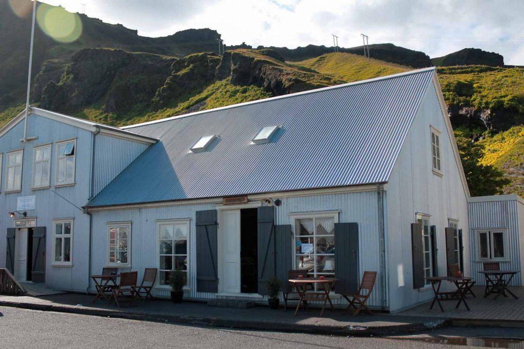Halldorskaffi restaurant in Vik, Iceland