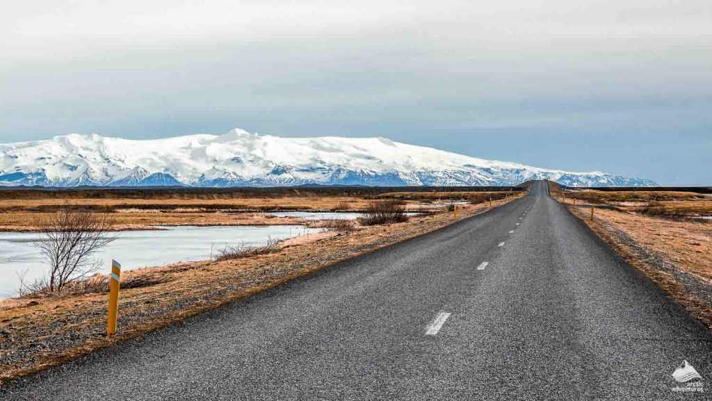 Icelandic empty road