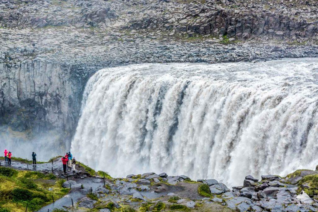 Godafoss and Dettifoss Waterfalls