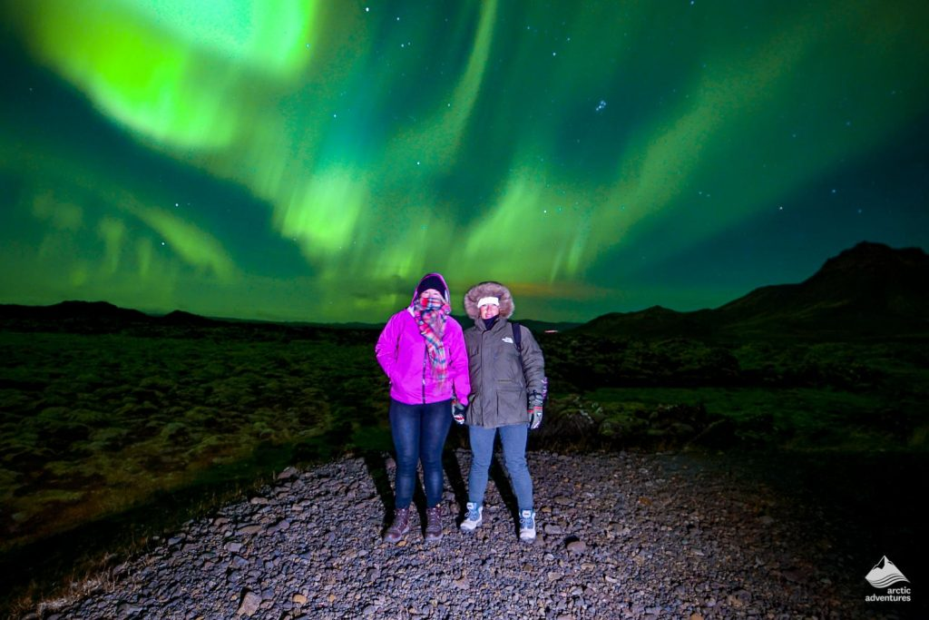Women teamed up with Northern Lights