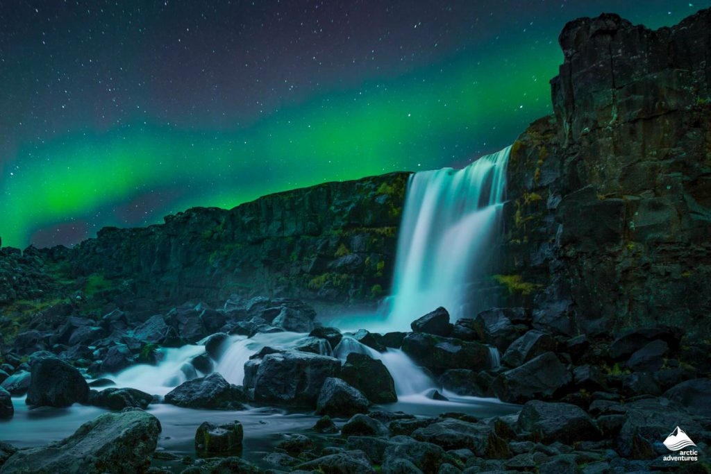 Northern Lights sky in Iceland