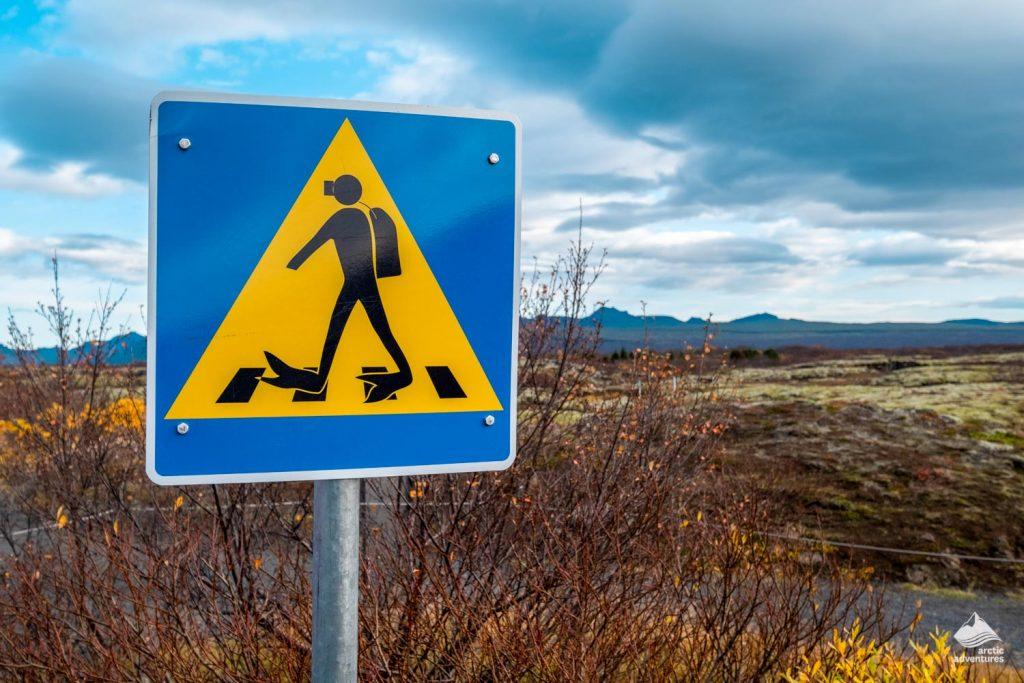 Thingvellir national park path